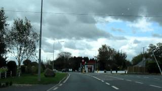 Driving from Dublin to Cork, Ireland