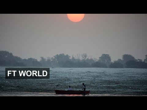 Indias polluted rivers