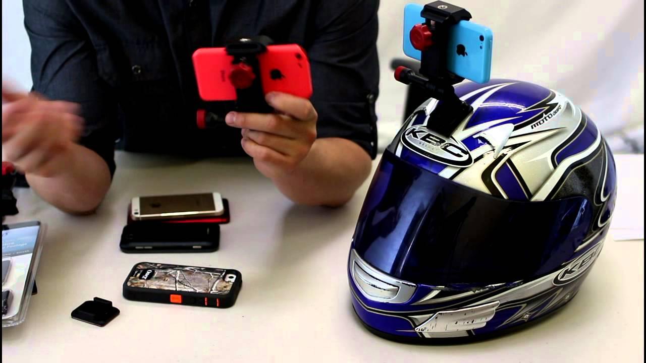 Helmet Cam Setup Gopro Helmet Cam For