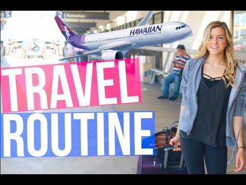 My Travel Routine + Essentials!