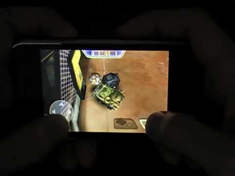 Thumb SocCars, iPhone game developed by a young Colombian, Sebastián Vargas