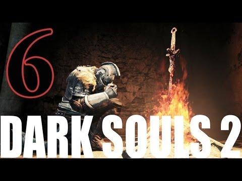 Dark Souls 2 Gameplay Walkthrough Part 6 - Estus! Leveling!