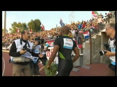 100m men Asafa Powell 9 78 Diamond League Lausanne 2011   www MIR LA com‏