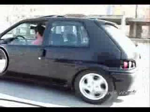 Peugeot 106 GTI vs Nissan 200SX Drag & Rolling By MMPower