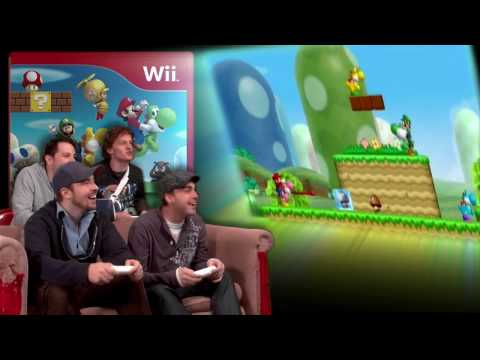 New Super Mario Bros. Wii - Video Games AWESOME!