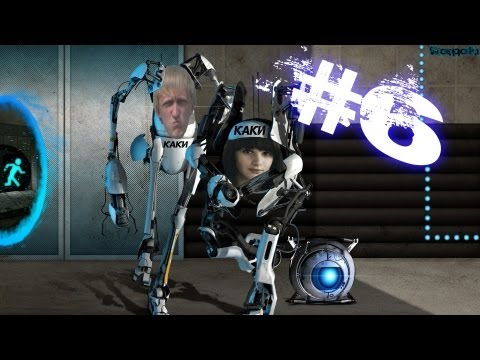Portal 2 KaКи - Серия #6 [ Куб убийца и полеты по уровням ]