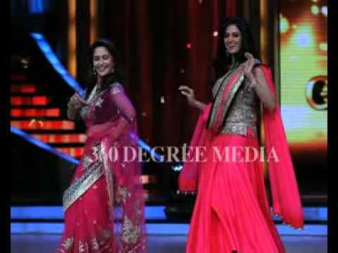 Jhalak Dikhla Ja Finale - Sridevi and Madhuri Dixit dance on...