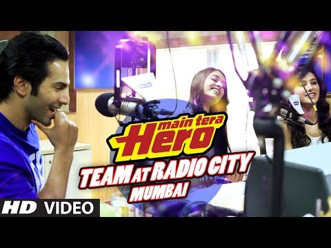Main Tera Hero Team at Radio City (91.1) FM | Varun Dhawan, Ileana D'Cruz, Nargis Fakhri