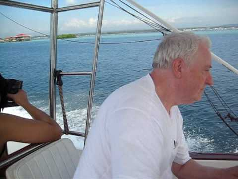 Davao, Frank Woolf, speedboat, fishing with Rolex