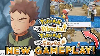 POKEMON LET'S GO PIKACHU & LET'S GO EEVEE GYM GAMEPLAY! BREAKDOWN & THINGS MISSED!