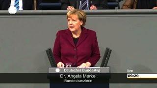 """Merkel mahnt ein """"solidarisches Europa"""" an"""