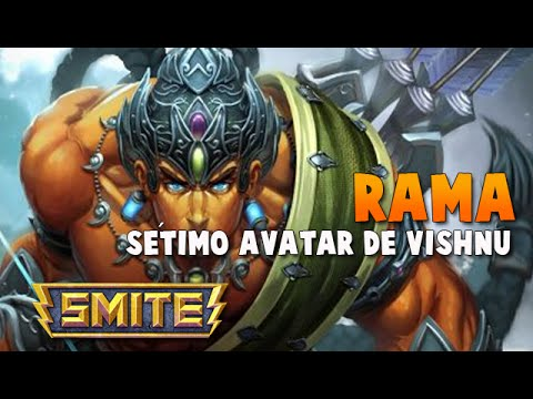 SMITE BRASIL - RAMA Sétimo avatar de vishnu! BUILD + GAMEPLAY!
