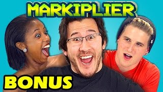 TEENS REACT TO MARKIPLIER (BONUS #102)
