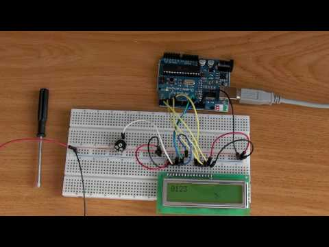 Arduino,Tutorial 06, Display LCD 16x2