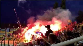 Pyroshow - Hertha BSC vs. Brøndby IF 1:0 (28.07.16 | Europa-League Qualification)