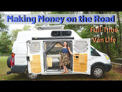 SOLO FEMALE VAN LIFE | How I Make Money on the Road