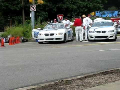 2009 Pittsburgh Vintage Grand Prix - amateur Radio Net Makes sure the Course Is Safe