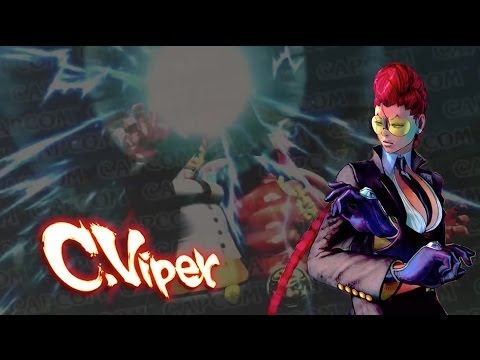 C. Viper Balance Changes - Ultra Street Fighter IV Gameplay Demo