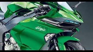 Bocoran Tampilan Kawasaki Ninja R2 Bermesin Supercharge 2017 dan H2