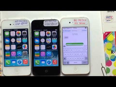 UNLOCK SPRINT CDMA iPhone 4S NO NEED PATCH with R-SIM AIR