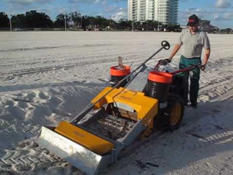Beach Sand Cleaner Sand Cleaner Gravely Rapid