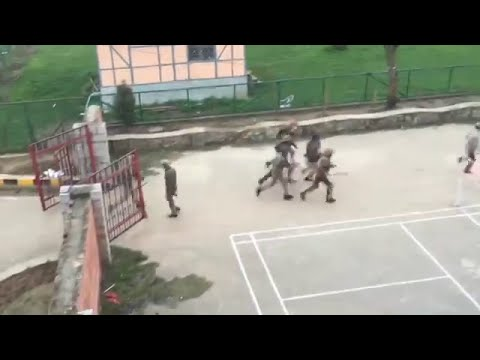 Again Unrest on NIT Srinagar campus | students protest, lathicharged; CRPF deployed  6th April