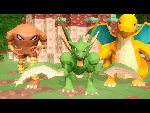 ♪ Minecraft Pokemon Song (Pixelmon) - Minecraft Song of The First Pokemon Movie (Parody)