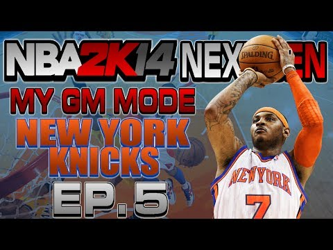 NBA 2K14 Next Gen My GM Mode Ep.5 - New York Knicks | GAME WINNING SHOT | Magic | Xbox One Gameplay