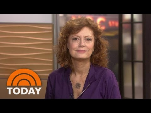 Susan Sarandon: Homelessness A Bigger Issue Than 'Snowflakes On Coffee Cups' | TODAY