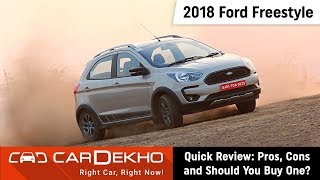 2018 Ford Freestyle Pros, Cons and Should You Buy One? | CarDekho.com