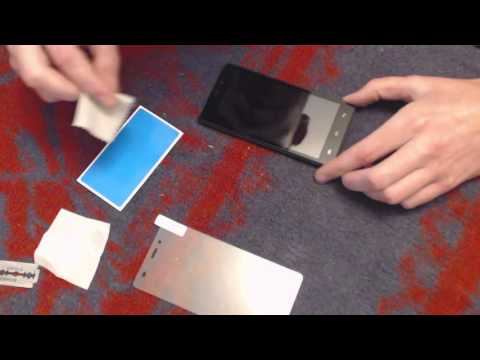 Как наклеить стекло на телефон в домашних условиях на сони