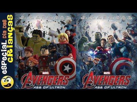 LEGO Vingadores O Filme  DUBLADO  Especial dia das Crianças. Caraca Games