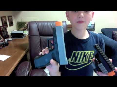 Best Toy Pistol with Silencer EVER!!!!!