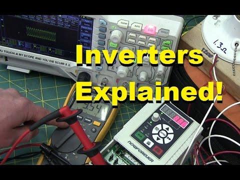 BOLTR: Inverter VFDs explained. teardown and test