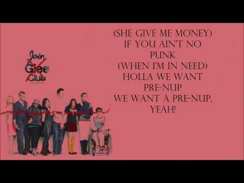 Glee 1x02 - Gold Digger [with lyrics]