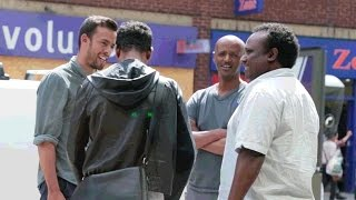 Surprising Ethiopians in London in Amharic