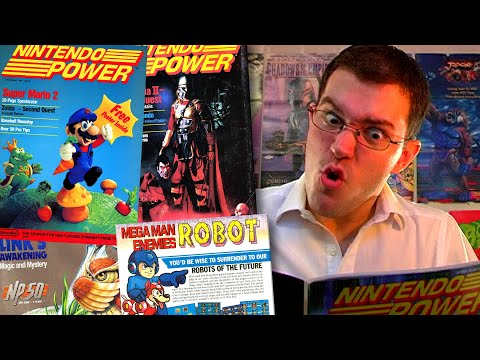 NINTENDO POWER - Angry Video Game Nerd - Cinemassacre.com Video