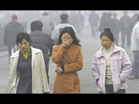 China's toxic air pollution resembles nuclear winter