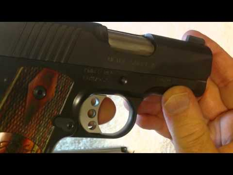 Concealed Carry Kimber Ultra Carry II Review = Very Impressed