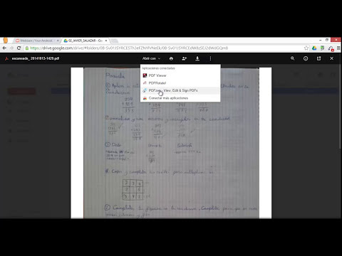 Escanear documentos con la aplicación de Google Drive