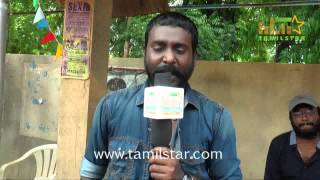 Vijay Vasanth At Achamindri Movie Shooting Spot