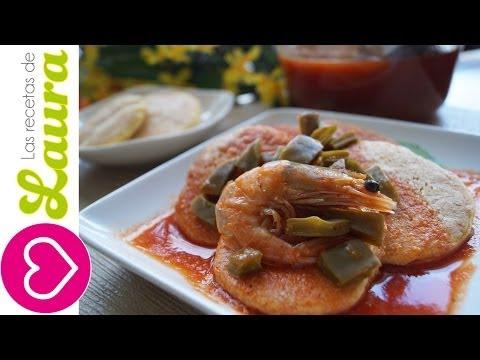 Tortitas de Camarón con Nopales ♥ Shrimp Cakes