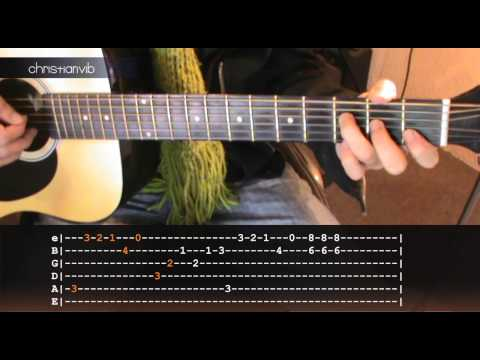 Como tocar Mario Bros en Guitarra Acustica Facil (HD) Tutorial Tablaturas