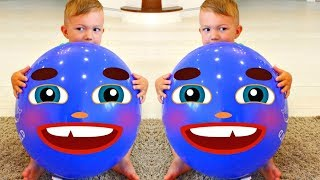 Balloon Song for Learn Colors | Nursery Rhymes for Children, Baby and Kids