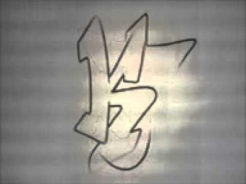 Alfabeto de Letras Graffitis Alfabeto de Graffiti