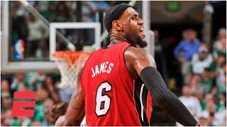 LeBron scores 45 points vs. Celtics in Game 6 of 2012 Eastern Conference finals | ESPN Archives