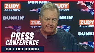 "Bill Belichick: ""We will make some decisions at the end of the week."""