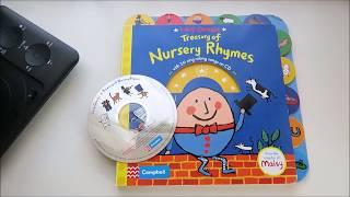 Lucy Cousins Treasury of Nursery Rhymes 童謠有聲硬頁書 CD試聽+內頁分享