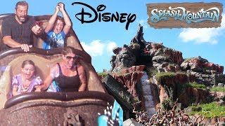 SPLASH MOUNTAIN RIDE Magic Kingdom - DISNEY vacation pt.2