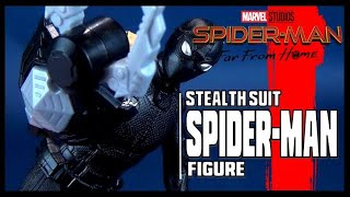 Spider-man Far from Home Stealth Suit Spider-man | Hasbro Figure Review #Spiderman